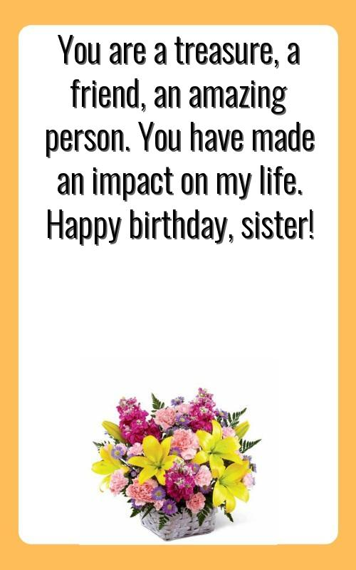 birthday wishes for my sister daughter
