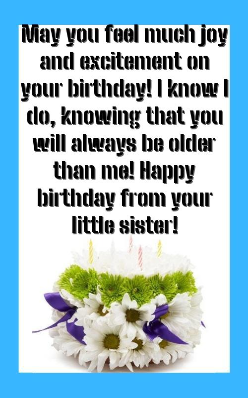 birthday wishes for sister and friend