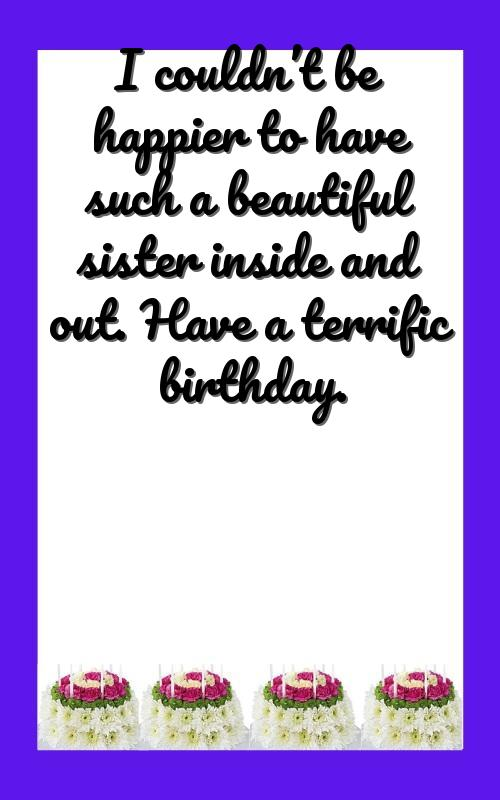 friend sister birthday wishes