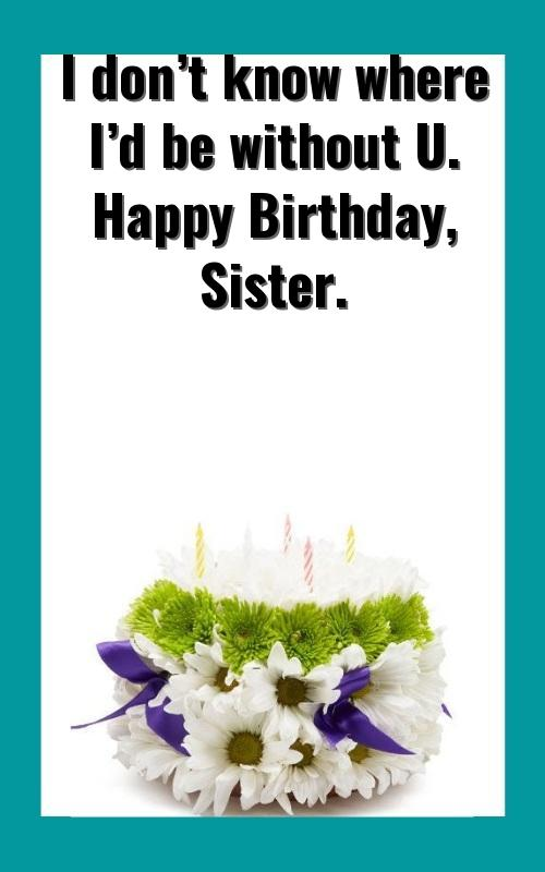 happy birthday sister video download