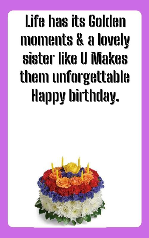 happy birthday wishes for sister from another mother