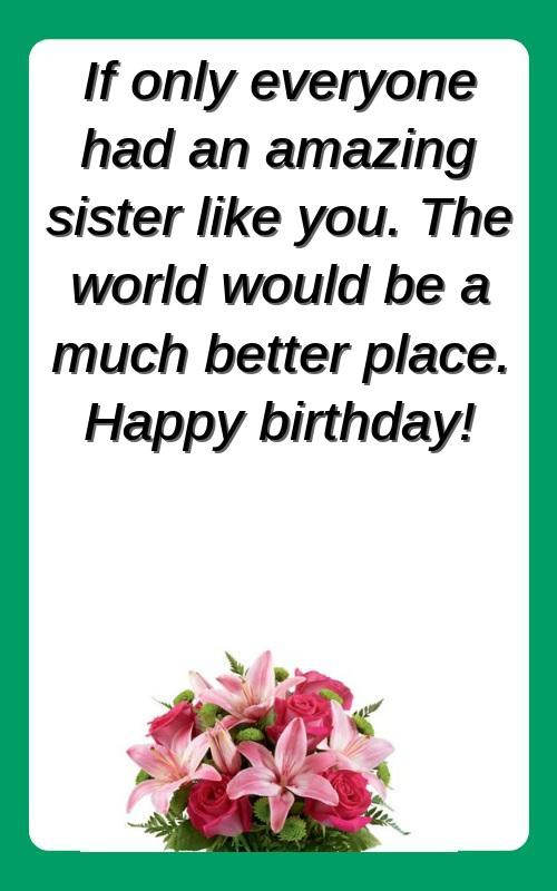 quotes on elder sister birthday