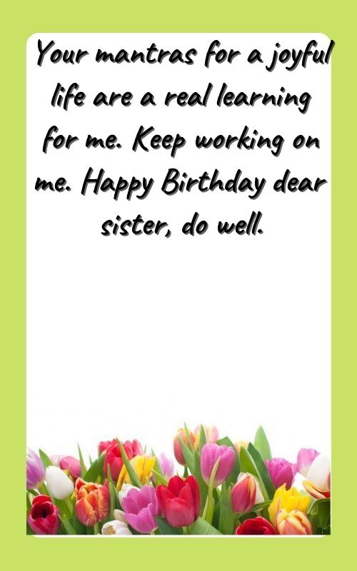 sister birthday wishes for brother