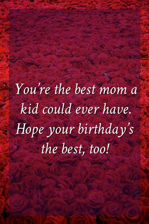 birthday quotes for mother in heaven