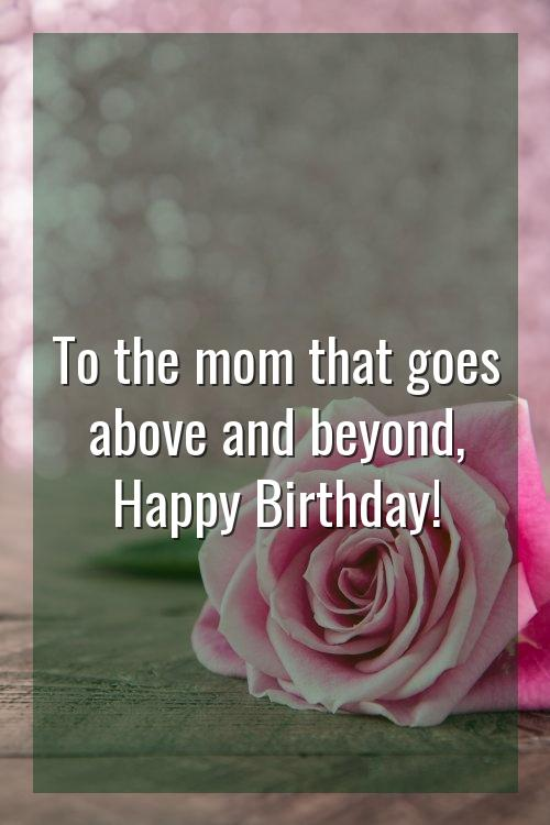birthday wishes for another mother