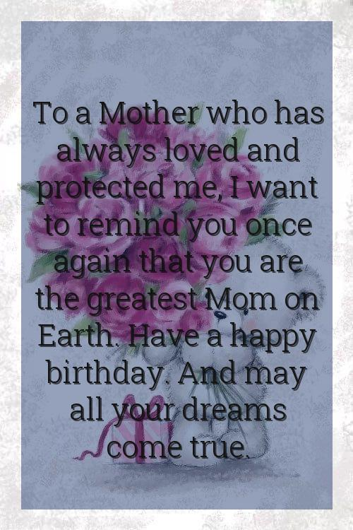 birthday wishes to mother quotes