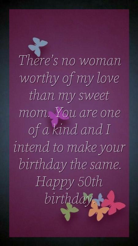 birthday words for mom