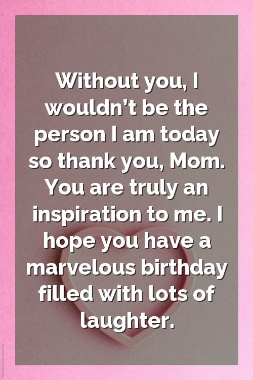 daughter birthday wishes by mom