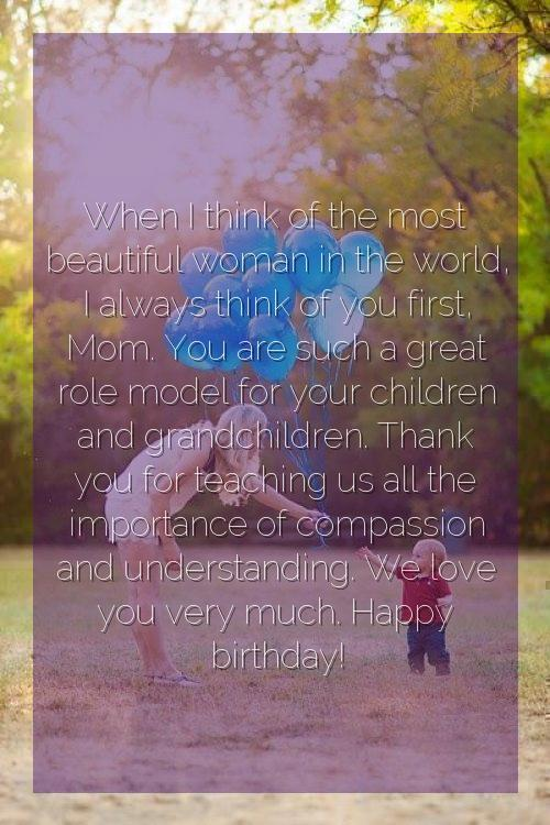 happy birthday mother quotes in english