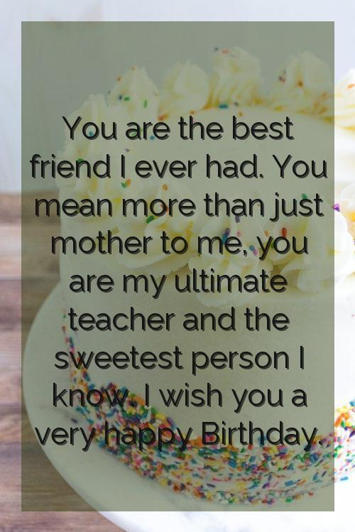 happy birthday to you mom quotes