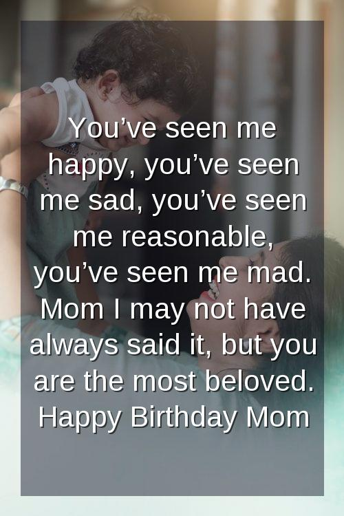 mother and son birthday wishes