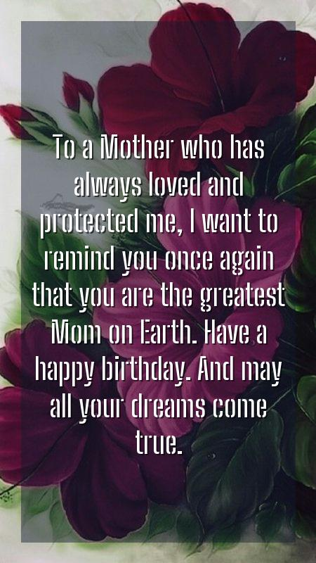 mother birthday quotes from son