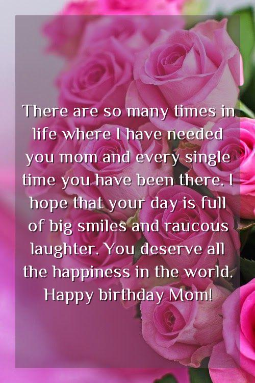 mother wishes for daughter birthday