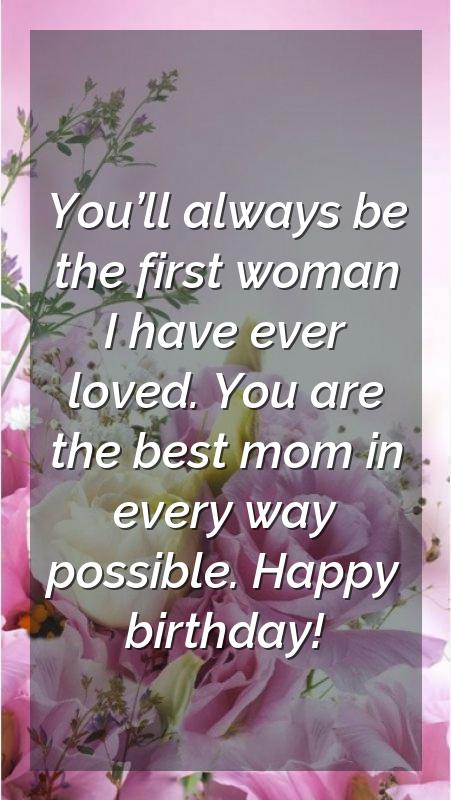 quotation for mom birthday