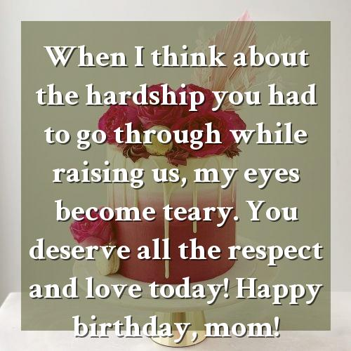 unique birthday wishes for mother
